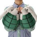Оригинал 1 пара костюмов граната Перчатки фаршированные плюшевые игрушки Cosplay Prop рождественский подарок новизны