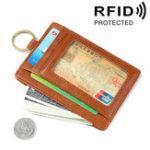 Оригинал МужчиныНатуральнаяКожаRFIDНаборзащитных карт Wallet