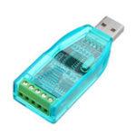 Оригинал USB to RS485 Преобразователь USB-485 с функцией защиты от переходного процесса TVS с индикатором сигнала
