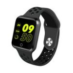 Оригинал ZGPAX S226 1.3 'Кровяное давление HR Sleep Монитор Long Standby APP Push Фитнес Tracker Smart Watch