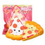 Оригинал Kiibru Пицца Squishy 14,5 * 13,5 * 5 см Медленное повышение Soft Игрушка с оригинальной упаковкой