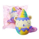 Оригинал Cooland 12 см Squishy Toy Galaxy Bear медленно растет с упаковкой Сумка