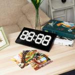 Оригинал 14 дюймов Большой 3D WIFI Дистанционное Управление Календарь Электронный LED Стена Часы