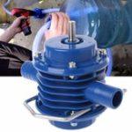 Оригинал Высококачественная сверхмощная самозарядная ручка электрическая Дрель Вода Насос Главная Сад Центробежная 125 мм x 10 7 мм