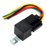 Оригинал 5pc 12V 30 40 Amp SPDT Автомобильное реле с проводами и проводкой Разъем