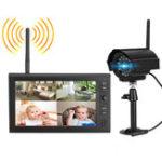 Оригинал Беспроводное видеонаблюдение камера Набор Система домашней безопасности с 7inch LCD Монитор Видеорегистратор Motion Detect