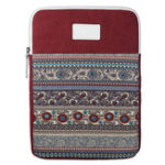 Оригинал Вертикальный планшет Чехол с текстурой Дизайн для планшета 13,3 дюйма – красный
