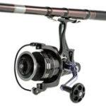 Оригинал БёбингCOONOR11+1BBSpinning Рыбалка Reel GT4: 7: 1 Правая / левая ручка Двойная тормозная система Carp Рыбалка Снасти Carretilha de pesca