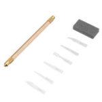 Оригинал MECHANIC S1020 Новый комплект комбинированных лезвий Новый ремонт Iphonex Набор Набор для демонтажа чипа