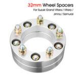 Оригинал 32-миллиметровый колесный распорный центрирующий фланец для Suzuki SJ Samurai Jimny Grand Vitara Chrome