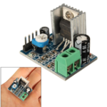 Оригинал 30pcs TDA2030A 6-12V AC / DC Single Power Supply Аудио Усилитель Модуль платы