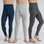 Оригинал Mens Thermal Брюки Tight Sleepwear Нижнее белье Long Johns