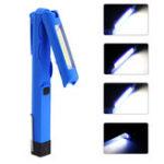 Оригинал LED+COB300LM4режима Складной магнитный хвост USB аккумуляторная фонарик Работа Лампа Light Mini Torch