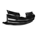 Оригинал Front Badgeless Debadged Sport Черная решетка для Volkswagen GOLF MK6 2008-on