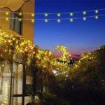 Оригинал 10M Солнечная Powered 8 режимов 100LED String Light Водонепроницаемы Сад На открытом воздухе Новогоднее украшение