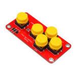 Оригинал 3шт. AD Аналоговый модуль Клавиатура Электронные строительные блоки 5 ключей для Arduino DIY