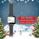 Оригинал Topsky 2 дюймов 5.8Ghz 48CH FPV Часы Монитор Встроенный Батарея Banggood Christmas Limited Edition
