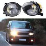 Оригинал Влево / вправо Авто Передние противотуманные фары Spot Лампа с лампочкой Amber для VW T5 T5.1 Транспортер 2010 On