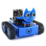 Оригинал WaveShare DIY Micro: бит STEAM Smart RC Robot Авто Porgrammable Bluetooth Control Track Evade Obstacle