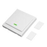 Оригинал 3pcs SONOFF® Wireless Дистанционный Передатчик 1-канальный Sticky RF TX Smart для дома Комната для отдыха Спальня 433MHZ 86 Стеновая панель