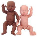 Оригинал 16 «Куклы мира ранних моментов Анатомически исправьте мальчика-девочку