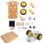 Оригинал Модифицированный3~9V2WDSmart Chassis Авто DIY Набор Для Arduino с двойным 1:48 TT Мотор