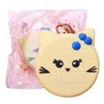 Оригинал White Kitty Кот Squishy 11CM Jumbo Animal Slow Rising Soft Коллекция подарков для игрушек с игрушками для упаковки