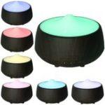 Оригинал 110-240V 7 Цвет LED Ультразвуковой увлажнитель воздуха Ароматический распылитель Диффузор Steam Воздухоочиститель