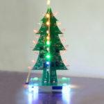 Оригинал Geekcreit® Собранная Рождественская елка Colorful LED Flash Модуль 3D LED Flash Свет