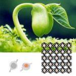 Оригинал 25pcs 3W Full Spectrum LED Grow Chip Light Beads с алюминиевой печатной платой для дома Растение DC3.2-3.4V