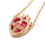 Оригинал Sailor Moon Crown Ami Regresa Кулон Цепное ожерелье