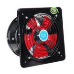 Оригинал 10Inch 220V 100W Booster Вентилятор вытяжной вентилятор Вентилятор Вентилятор Вентилятор Вентилятор Вентилятор вытяжной вентилятор