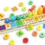Оригинал Top Bright-6540 Blocks Montessori Classic Math Rainbow Donuts Коробка Обучающие игрушки для детей
