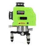 Оригинал 360 ° Вращающийся Лазер Уровень Самовыравнивание 3D 12 Line Green Измерение Инструмент с Штатив