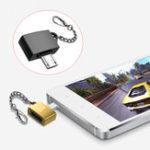 Оригинал Универсальныйметаллическиймикро-USB-адаптердляUSB2.0 USB-адаптер для мобильного телефона Xiaomi Huawei
