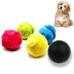 Оригинал 4Pcs / Set Волшебный Ролик Ball Toy Automatic Ролик Ball Pet Кот Собака Игрушки Охота Собака Принадлежности
