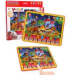 Оригинал MoFun 2602A Ipad Обучающая машина 24CM Животные Концерты Ранние образовательные игрушки Обучающие пособия