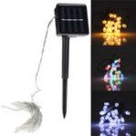 Оригинал 3M 20 LED String Light 8 Modes Солнечная Powered На открытом воздухе Рождественский свет