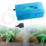 Оригинал ВодонепроницаемыПортативныйкислородныйвоздухНасосдля рыбного бака Аквариум Принадлежности с Soft Трубка Воздушный камень