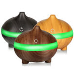 Оригинал  Ультразвуковой Aroma Essential Масло Air Диффузор Увлажнитель для зерна из дерева USB Cool Туман Увлажнитель