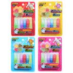 Оригинал 6PCS DIY Slime Jelly С блестками Клей Ручка Картина Набор Упаковка для коллекции подарков