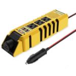 Оригинал 150W 12V to 110V Dual USB AC Выходное преобразование Авто Инвертор
