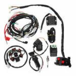 Оригинал Полная электрическая проводка Жгут проводов CDI-катушка для GY6 150CC ATV Quad Go Kart Buggy