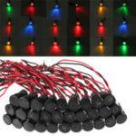 Оригинал Универсальный12V24V36V12mmВодонепроницаемы LED Индикатор панели индикатора панели приборов Лампа