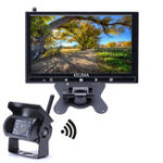 Оригинал KELIMAБеспроводнаясвязьМониторСвободнаяпроводка HD Разрешение Дисплей Авто Вид сзади камера