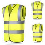 Оригинал Безопасность Безопасность Видимость Светоотражающий жилет Строительный рабочий Складской рабочий