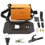 Оригинал Сварочная машина ZX7-200MINI MMA Handheld 220V Portable 10-200A Инвертор ARC Welding Инструмент
