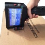 Оригинал Защищенный портативный смарт-принтер для струйных принтеров Date Coder Ink Coding Machine LED Экран