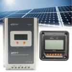 Оригинал EPEVER MT50 Дистанционный Meter + MPPT 12 / 24V 40A LCD Солнечная Регулятор зарядного контроллера