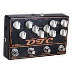 Оригинал MOSKY DTC 4 в 1 Педаль эффектов электрической гитары с задержкой цикла перегрузки